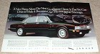 1991 Jaguar Sovereign 2-page Ad, Next Great Classic!!