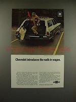 1969 Chevrolet Kingswood Estate Wagon Ad - Walk-in