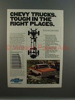 1977 Chevrolet Chevy Trucks Ad - Tough in Right Places