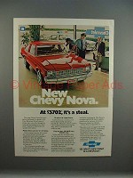 1979 Chevrolet Chevy Nova Car Ad - It's a Steal!