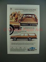 1981 Chevrolet Chevy Caprice Classic Wagon Ad!