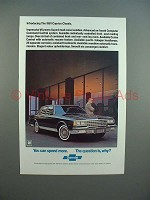 1981 Chevrolet Caprice Classic Car Ad - The Question