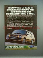 1982 Chevrolet S-10 Pickup Truck Ad  - Never Been