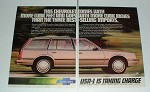 1982 Chevrolet Cavalier Wagon Ad - More Cubic Feet!