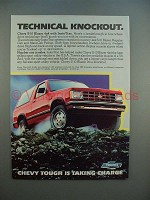 1983 Chevrolet S-10 Blazer 4x4 Ad - Technical Knockout