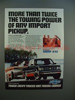 1983 Chevrolet S-10 Maxi-cab Pickup Truck Ad - Power!