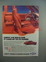 1984 Chevrolet Chevy S-10 Maxi-cab Pickup Truck Ad!