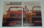 1988 Chevrolet Pickup Truck Ad - USAC Tests Prove It