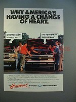 1988 Chevrolet Pickup Truck Ad - A Change of Heart