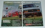 1989 Chevrolet Extended Cab Pickup Truck Ad - Heart