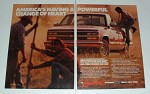 1989 Chevrolet Half-Ton Pickup Truck Ad - Powerful