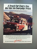 1991 Chevrolet Chevy Work Truck Ad - Not Everday