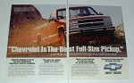 1992 Chevrolet Chevy Truck Ad - Best Full-Size Pickup!