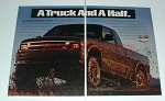 1994 Chevy S-Series ZR2 Extended Cab Pickup Truck Ad!