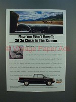 1994 Chevrolet S-Series S-10 Pickup Truck Ad - Close