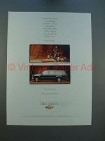 1996 Chevrolet Chevy Suburban Ad, Quote by Greg Norman