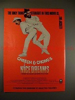1981 Cheech & Chong's Nice Dream's Movie Ad, NICE!!