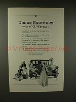 1926 Dodge Brothers Special Type-A Sedan Ad!