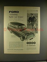 1958 Ford The Squire Car Ad - Winning Light Car Team