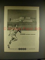 1958 Ford Foundry at Dagenham Ad - Strides Ahead