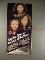 1980 Ampex Tape Ad with the Bee Gees, Tape of Stars!!