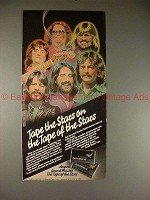 1980 Ampex Tape Ad with Atlanta Rhythm Section, NICE!