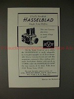 1955 Hasselblad Camera Ad, Does So Many Things So Well!