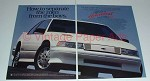 1991 Chevy Lumina Z34 Car Ad - Separate Men From Boys