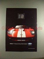 2004 Ford GT Car Ad - Pace Car for an Entire Company