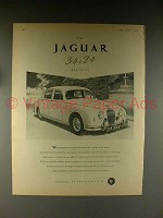 1958 Jaguar 3.4 Litre Mark VIII Saloon Car Advertisement - NICE!