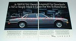 1989 Jaguar XJ6 Car Ad - Haven't Lowered Our Standards