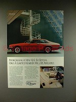 1989 Jaguar XJ-S Rouge Car Ad - Limited Number