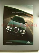 2001 Jaguar S-type Car Ad - Your Guidance Counselor