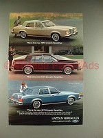 1979 Lincoln Versailles Car Ad - This is New