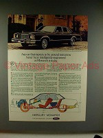 1976 Mercury Monarch Car Ad - Intelligently Engineered