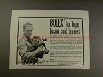 1952 Bolex H-16 Movie Camera Ad w/ Dr. Andras Laszlo!!