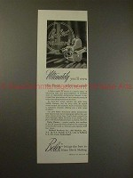 1953 Bolex H-16 DeLuxe Movie Camera Ad - The Finest!!