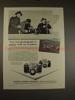 1955 Exakta VX and Exa Camera Ad - Photograph it Easier