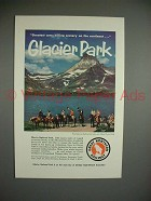 1956 Great Northern Railway Ad - Care-Killing Scenery