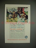 1962 Great Northern Railway Ad - Home Fireside Comfort