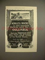 1903 Northern Pacific Railway Ad - Achilles of Rivers