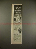 1955 Konica Tele-Koniflex Camera Ad - Afford Quality!