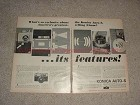 1964 2pg Konica Auto-S Camera Ad - What's So Exclusive!