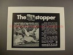 1967 Konica Auto-S Rangefinder Camera Ad - The Stopper!