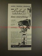 1961 Linhof Color 4x5 Monorail View Camera Ad, Location