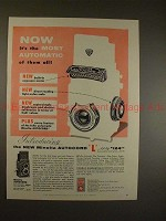 1956 Minolta Autocord L Camera Ad - Most Automatic!!
