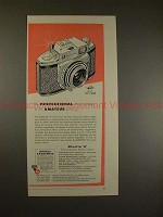 1956 Minolta A Camera Ad - Professional 35mm at Price!!