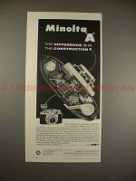 1957 Minolta A Camera Ad - Difference in Construction!!