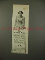 1900 Ferris Bicycle Corset Waist Ad - Perfect Poise