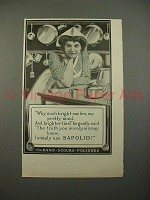 1900 Sapolio Soap Ad - Bright Smiles my Pretty Maid
